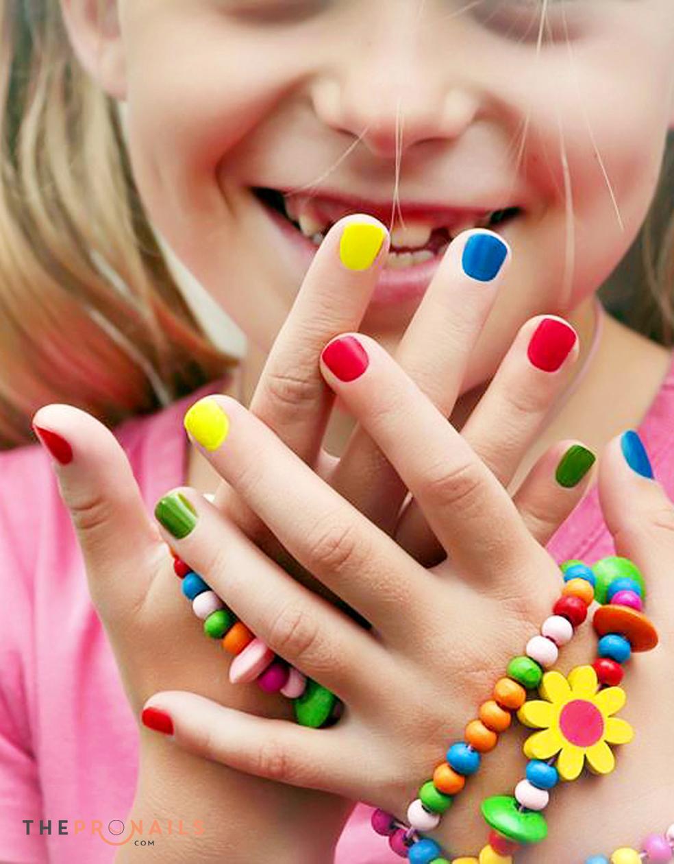 Gel Manicure Kid